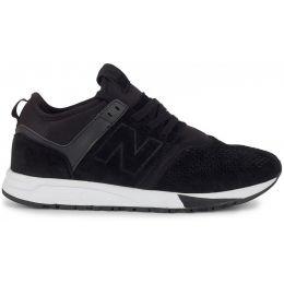 New Balance мужские Бело-черные