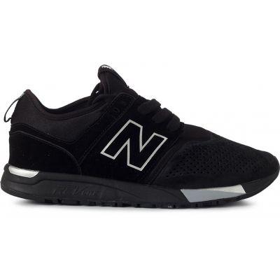 Кроссовки New Balance (Нью Баланс) Черно-белые мужские (40-45)