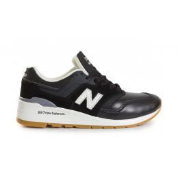 New Balance Черно-белые мужские (40-45)