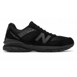 New Balance 990 кожаные черные женские