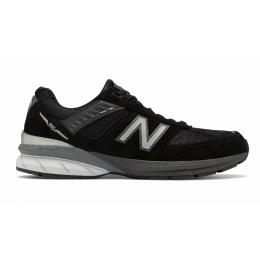 New Balance 990 кожаные black
