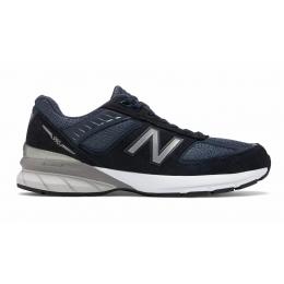 New Balance 990 замшевые синие