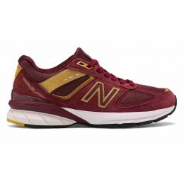 New Balance 990 замшевые красные