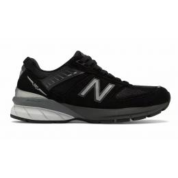 New Balance 990 замшевые черные
