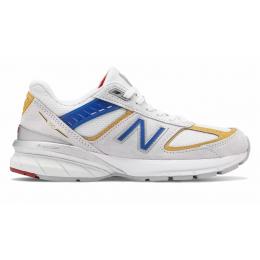 New Balance 990 замшевые белые