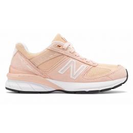 New Balance 990 кожаные розовые