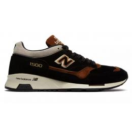 New Balance 1500 замшевые черные