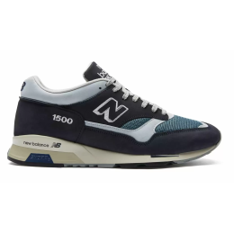 New Balance 1500 кожаные темно-синие