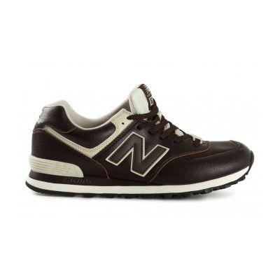 Кроссовки New Balance 574 мужские бело-черные (40-45)