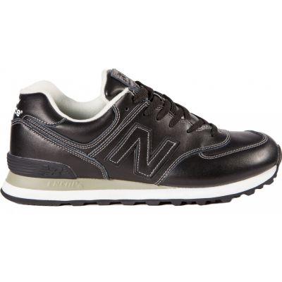 Кроссовки New Balance 574 мужские серо-черные