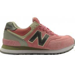 Кроссовки New Balance женские Розово-серые (36-41)