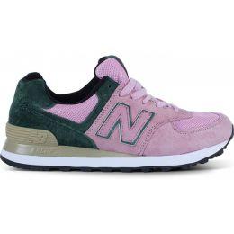 New Balance женские Розово-зеленые (36-41)