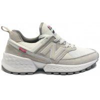 New Balance женские Бело-серые (36-41)