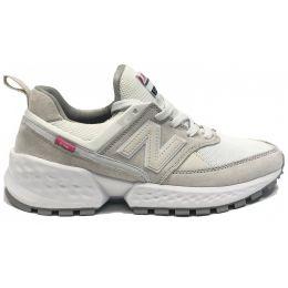 Кроссовки New Balance женские Бело-серые (36-41)