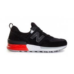 New Balance Черно-красные мужские (40-45)
