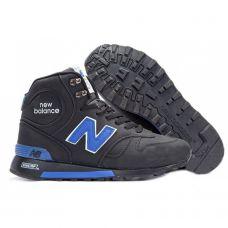 New Balance 1300 черно-синие зимние
