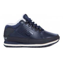 Кроссовки мужские New Balance темно-синие зимние