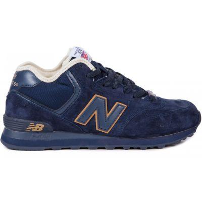 Кроссовки New Balance мужские синие зимние
