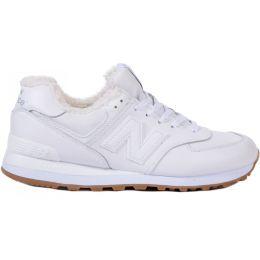 Кроссовки New Balance мужские белые зимние