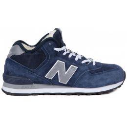 New Balance мужские сине-серые зимние