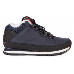 Кроссовки мужские New Balance темно-сине-черные зимние